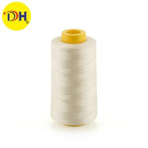 Venta de fábrica 100% poliéster hilado hilo de coser 50/2 5000m de buena calidad de prendas de vestir