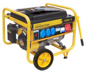 Tres fase 380V/400V/415V 4kVA/5kVA/6kVA gasolina/Gasolina Generador Portátil