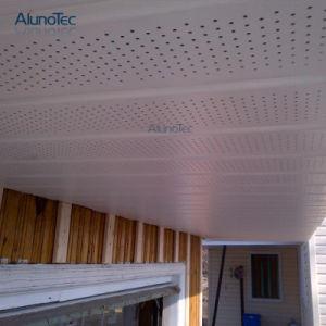 Superventas de pulverización de fluorocarbono perforado techo malla expandida