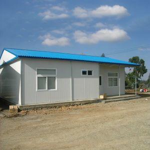 軽い鉄骨フレームサンドイッチパネルの移動式かモジュラー建物か組立て式に作られるか、またはプレハブのキャンプの生きている家