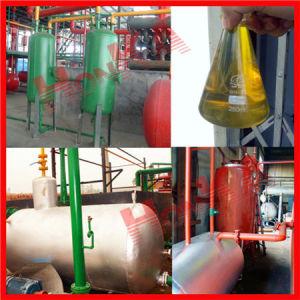 基礎オイル機械をリサイクルするディーゼル有益な使用されたエンジンオイル