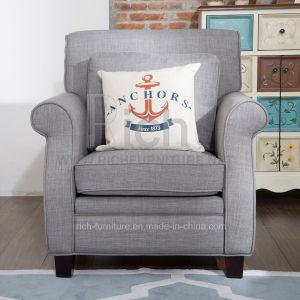 米国式の標準的なファブリックソファーの椅子