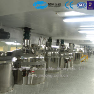 Línea de producción automática de acondicionador de cabello