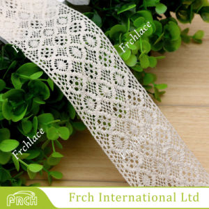 Form Cotton 100% Embroidery Fabric Lace für Dress