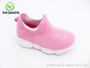 2019 Nuevo estilo de inyección de PVC Flyknit único de los niños/Baby Shoes Ys19-XL-07