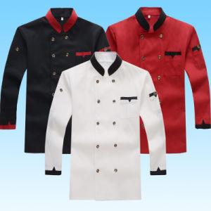 d2a428ee4c Hotel Chef de manga comprida Jaqueta Hotel Restaurant Vestuário Vestuário  de cozinheiros de homens e mulheres