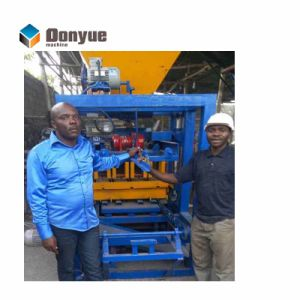 O Qt4-24 Tijolos de intertravamento de alta qualidade preço da máquina máquina de fabricação de eléctrico