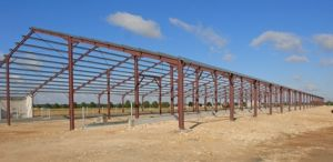 Estructura de acero para la construcción de almacén (LTL-14)