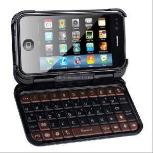 Nieuw Model! Vierling-banden Dubbele SIM WiFi TV I Telefoon 4g T7000 met het Geval van het Volledige Toetsenbord en van het Leer