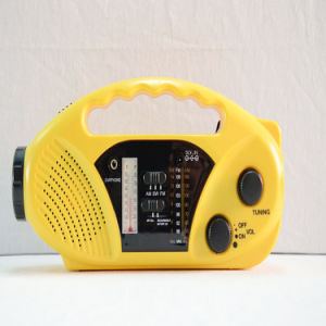 FM/AM/Sw ABS jaune charge Mobile Radio (HT-898)