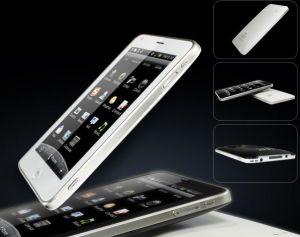 Telefone Quadband 5.0 TV WiFi GPS da tela de toque do telefone celular (T8500)