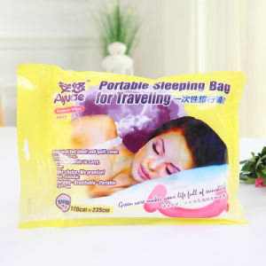 Enveloppe Portable Supersoft adulte en bonne santé voyage sac de couchage jetable pour voyager/Extérieur/hôtel/Voyage de l'hôpital/business/SPA/salon