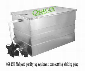 Matériel de purification d Fishpond Osa-65h