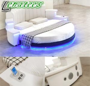Cy006 Venda quente quarto móveis com leitor de música de iluminação LED