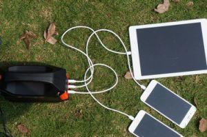De draagbare ZonneGenerator van de Levering van de Macht van de Noodsituatie met Zonnepaneel