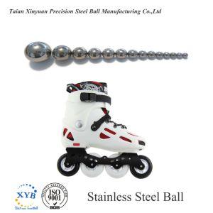 SUS304 la bola de acero inoxidable SS304 G100 de 3mm para patinar zapatos