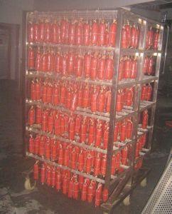 Usine Machine à fumer de la viande en vente directe de 500 Kg/four