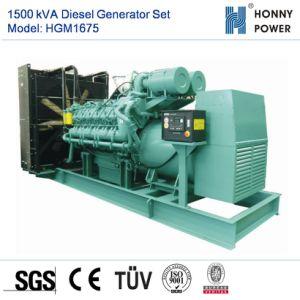 Dieselset des generator-1500kVA mit Googol Motor 50Hz