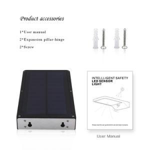 動きセンサーが付いている屋外の42のLEDの太陽庭ライト