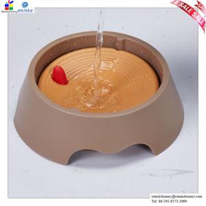Ciotola impermeabile di plastica dell'alimentatore dell'animale domestico di pulizia facile per l'animale domestico