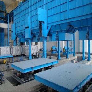 V el proceso de fundición de la junta de vacío máquina de moldeo por colada