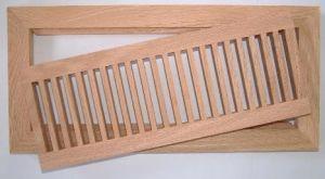 Ventilación de piso de madera