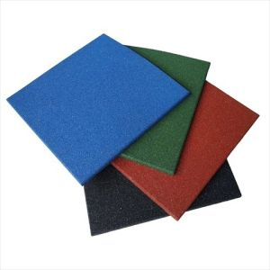 セリウムのCertficatedの高密度屋外のゴム製床タイル