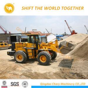 De Capaciteit van de emmer 3m3 die 5000kg Shantui Lader sl50w-2 in werking stellen van het Wiel van 5 Ton