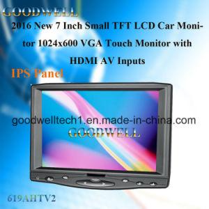 HDMI 입력을%s 가진 7 인치 접촉 스크린 모니터