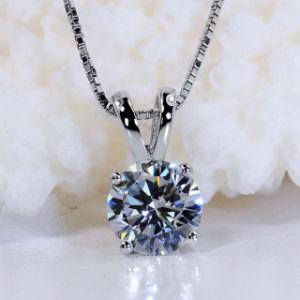 ギフトのためのファッションスターカット合成ダイヤモンドネックレスジュエリー