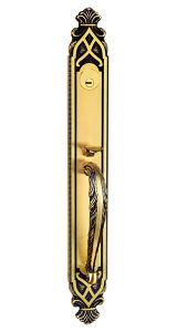旧式な様式は真鍮のEntracneのドアハンドルを造った