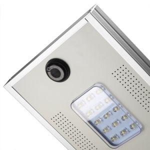 Solar Jardín de aseguramiento de calidad con la cámara de luz LED 15W