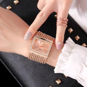 3c19ab6083f As mulheres de luxo Assista Jóias de Diamante de Cristal Rhinestone  Senhoras Relógios de Ronda de