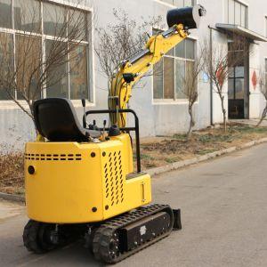 Escavatori cinesi del cingolo da 1.0 tonnellate mini