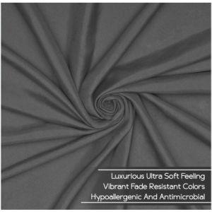 Cepillado doble Super suave de microfibra juego de hojas con cama de lujo