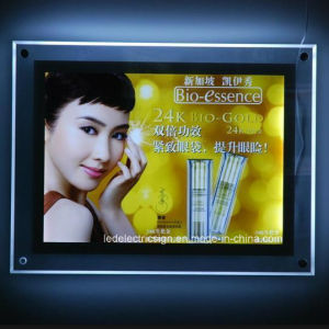 Double Side Picture Frame Advertizing DisplayのLED Window Display LED Real Estate Light Box