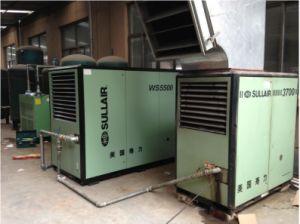 Compresor de aire de tornillo rotativo Sullair Serie WS WS1800/WS2200/WS3000/WS3700/WS4500/WS5500 y WS7500 7.6bar/8.6bar/10,6 bar/12,6 bar