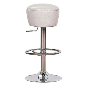 高品質の白いカラー総合的な革旋回装置棒椅子(FS-T6089)