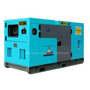 Unite de puissance silencieux industriel Groupe électrogène diesel Cummins 350kVA (UPC350)