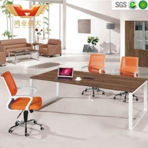 Tabella di congresso di legno della fabbrica del comitato delle sedi moderne del banco 6 (HY-H10)