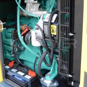 Одна фаза 10 ква звуконепроницаемых дизельных генераторных установок типа молчания