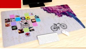 Het grote Non-Skid Rubber van het Stootkussen van de Lijst van de Mat van het Toetsenbord van de Mat van Mousepad van het Gokken