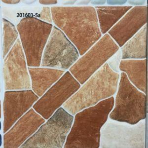 De geslepen Tegel van de Vloer van de Badkamers van de Steen Gelijke Vierkante Rustieke Ceramische