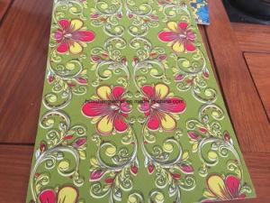 Color de la flor de madera contrachapada de poliéster/placa de poliéster