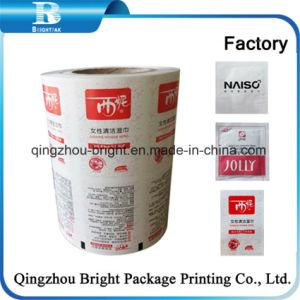 Comercio al por mayor funda de papel de aluminio laminado de adhesivo película para bolsas de embalaje de alimentos