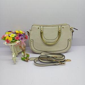 Handmade femme blanche Fashion PU fourre-tout cuir 2018 Sac à main (No. 0540)
