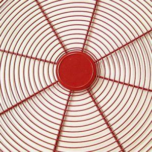 Il PVC ha galvanizzato la protezione assiale saldata della griglia del ventilatore del collegare