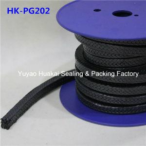 La alta calidad grafito impregnado con PTFE/empaquetadura de teflón con aceite