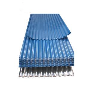 Type T toit recouvert de couleur de feuille de tôle ondulée sur la feuille d'acier galvanisé prélaqué