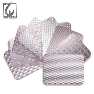 Strato impresso rivestimento dell'acciaio inossidabile di Decroation dello specchio dei 304 PVC